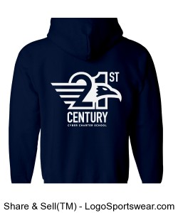 Gildan Adult Heavy Blend Full Zip Hooded Sweatshirt Design Zoom