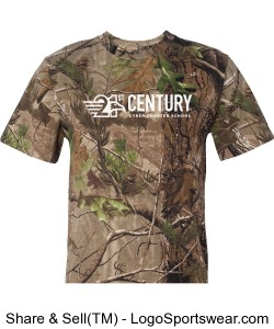 Code V Adult Camouflage Short Sleeve T-shirt Design Zoom